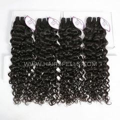 4 Bundles Cambodian Italian Curly Hair 100% Unprocessed Virgin  Human Hair Natural Color