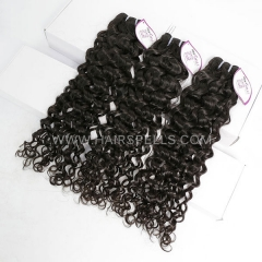 3 Bundles Cambodian Italian Curly Hair 100% Unprocessed Virgin  Human Hair Natural Color